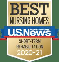 Best nursing homes award for Aurora on France in Edina, Minnesota.