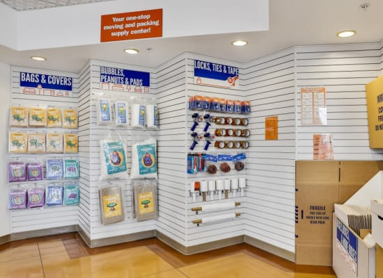 Packing supplies available at A-1 Self Storage in Oakland, California