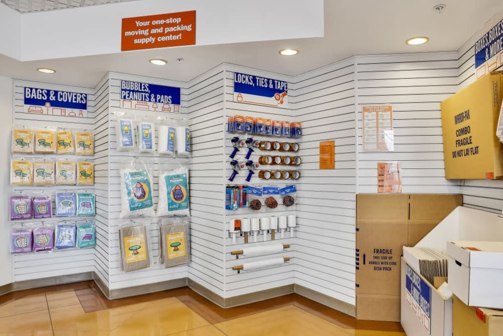 Packing and moving supplies available at A-1 Self Storage in Oakland, California