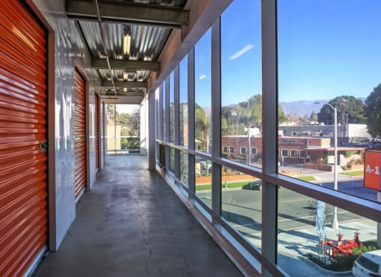 Storage with a view in Alhambra, California