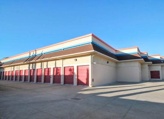 Wide driveways at our outdoor storage units in Concord, California