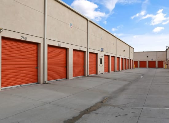 Drive-up storage in Cypress, California