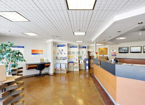 Leasing office at A-1 Self Storage in San Diego, California