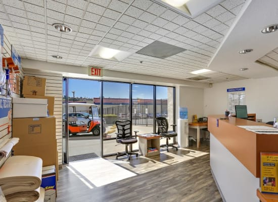 The office of A-1 Self Storage