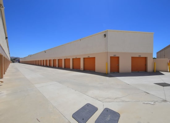 Drive-up storage units in El Cajon, California