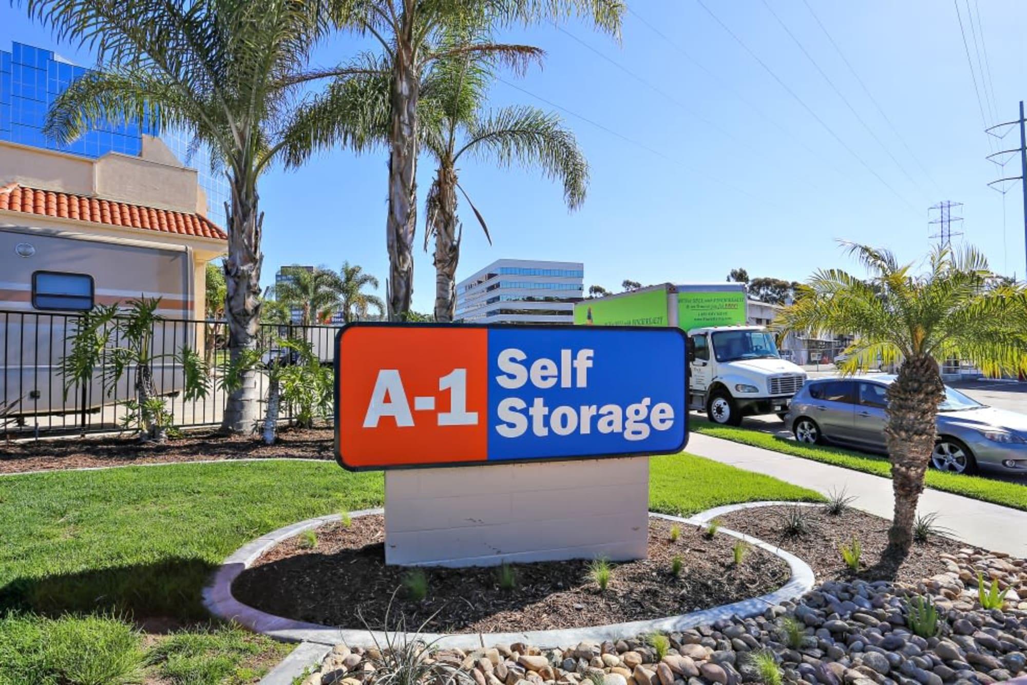 Convenient Location in A-1 Self Storage San Diego.