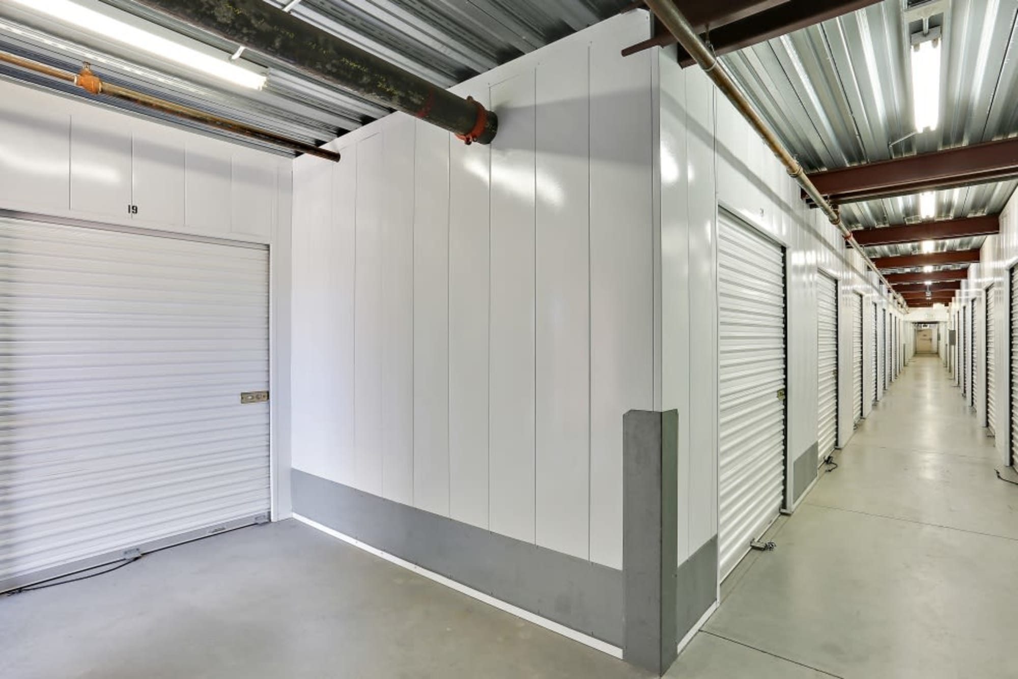 Indoor storage and a convenient elevator at A-1 Self Storage in San Diego, California