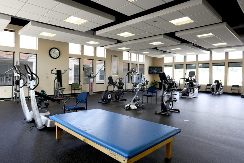 State-of-the-art gym to keep residents active and moving at The Lofts at Glenwood Place in Vancouver, Washington