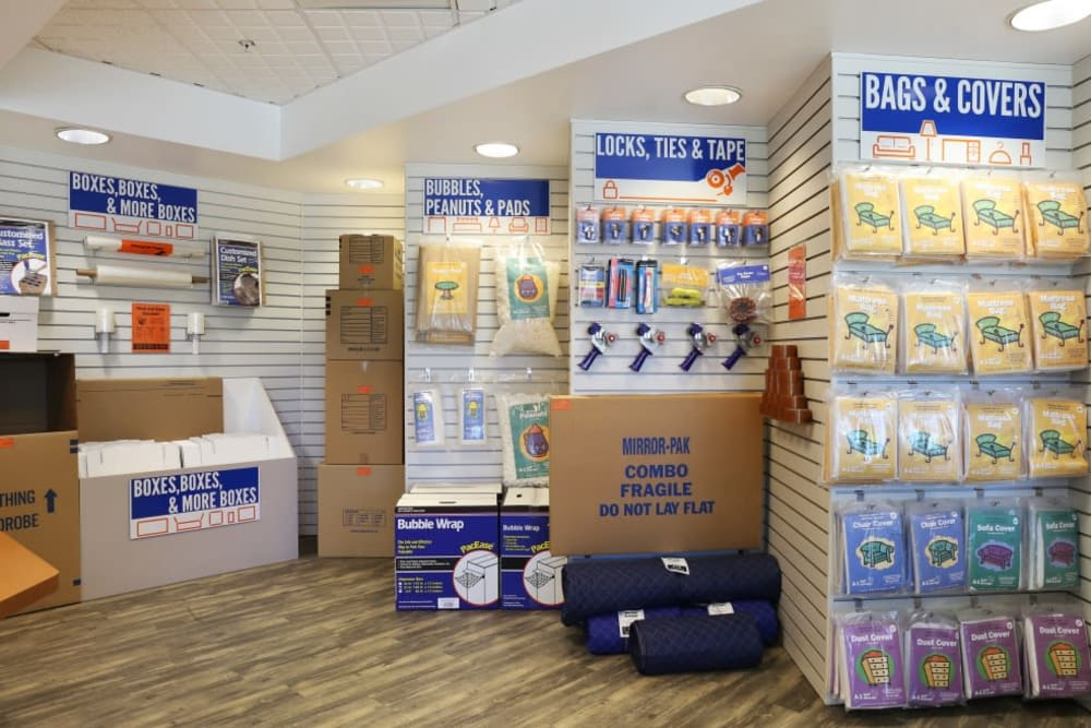 Packing and moving supplies available at A-1 Self Storage in Glendale, California