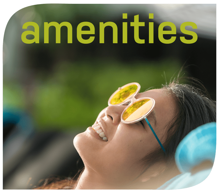 Amenities at GreenVue Apartments