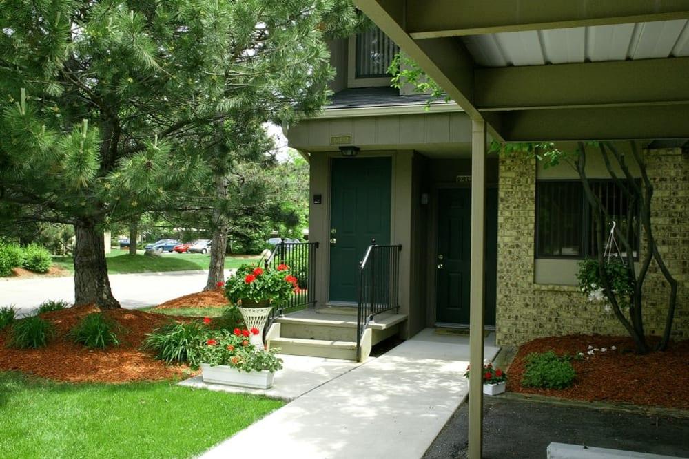 Exterior view at Fairmont Park Apartments
