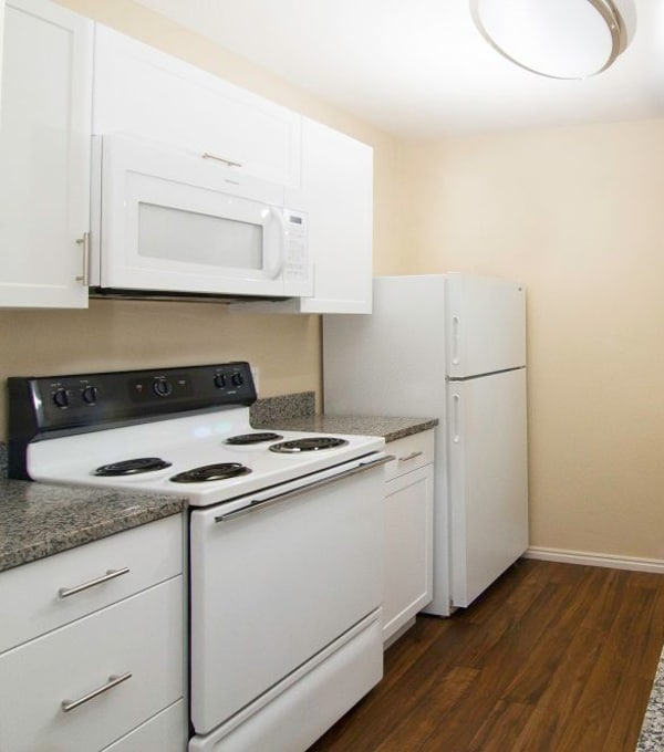 Kitchen at Woodgate Apartments