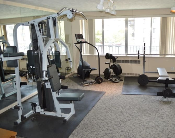 Fitness center Oak Hill Terrace in Brighton, NY