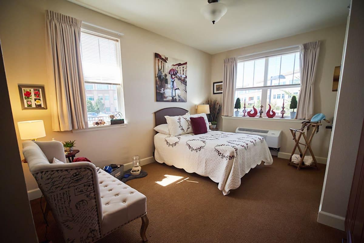 Suite at New Dawn Memory Care in Colorado Springs, Colorado