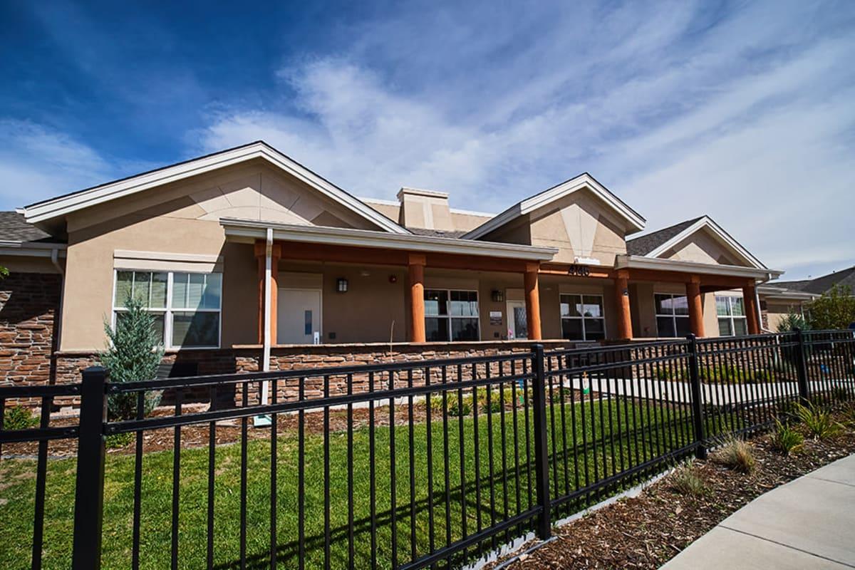 Exterior at New Dawn Memory Care in Colorado Springs, Colorado