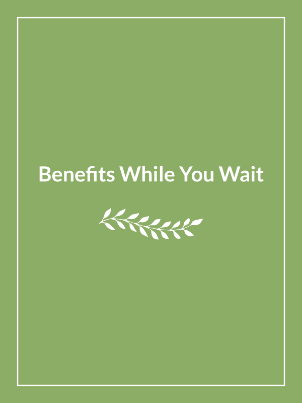 Benefits while you wait at CHAI Apartment Communities