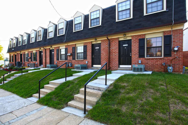 Entry at Pleasantview Townhomes in Baltimore, Maryland