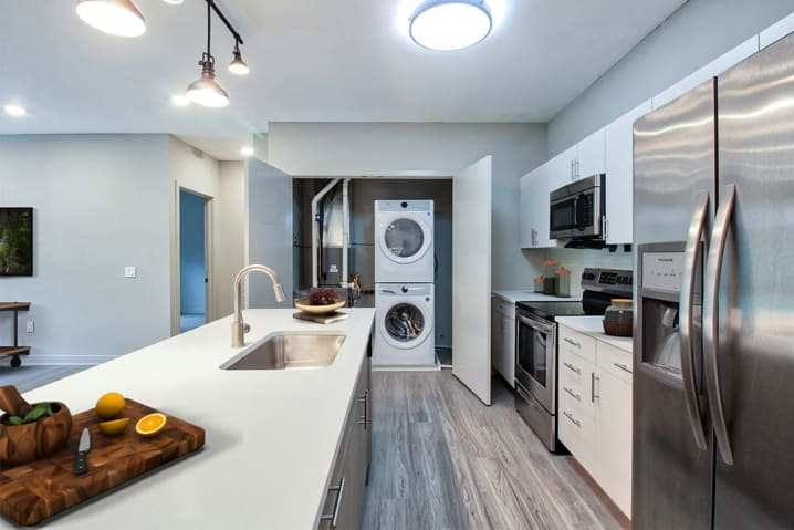 Beautifully designed kitchen at 933 the U in Rochester, New York