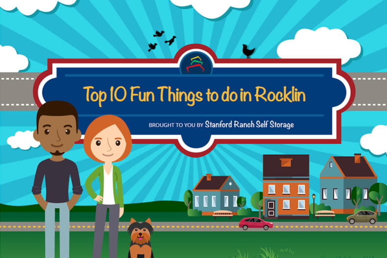 Click to view fun things to do in Rocklin, California by Stanford Ranch Self Storage.