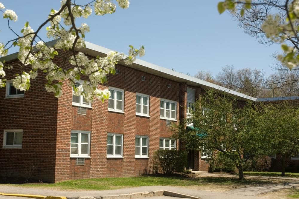 Our beautiful gardens and apartments in at Davis Commons in Brockton, Massachusetts