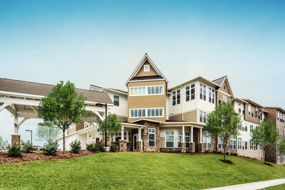 Stonecrest at Clayton View in Saint Louis, Missouri, exterior during the day