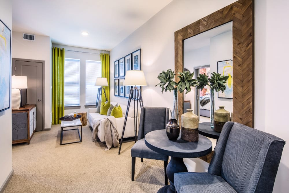 Stonecrest at Clayton View in Saint Louis, Missouri, model bedroom