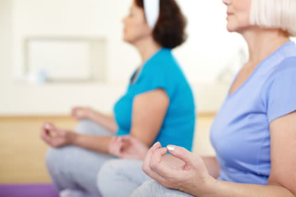 Yoga and wellness courses available for residents at Arbour Square of Harleysville in Harleysville, Pennsylvania