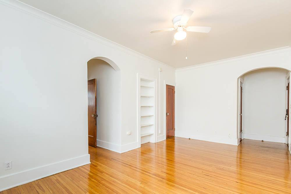 Hardwood floors at Colby, Carlton, and Colby Park Apartments