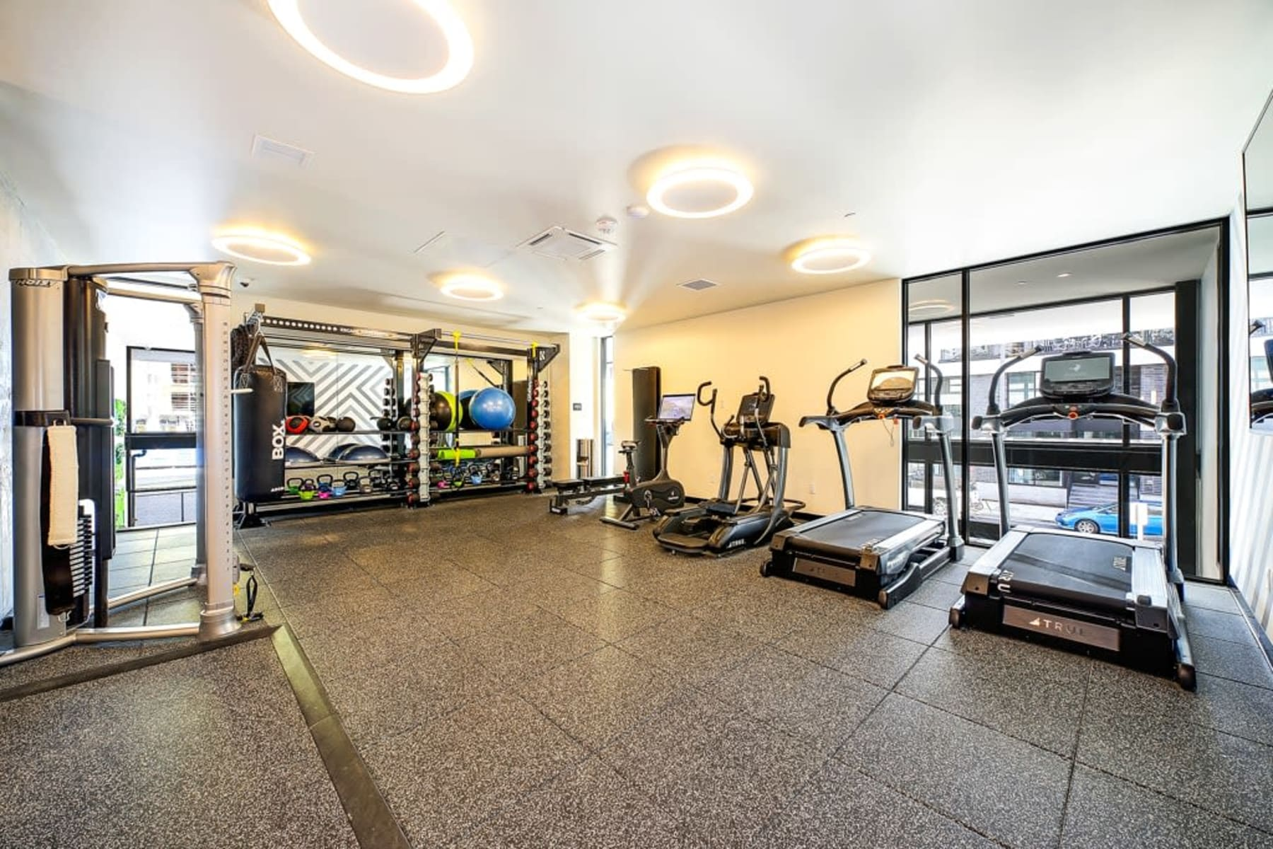 Fitness Center at Blackbird in Redmond, Washington