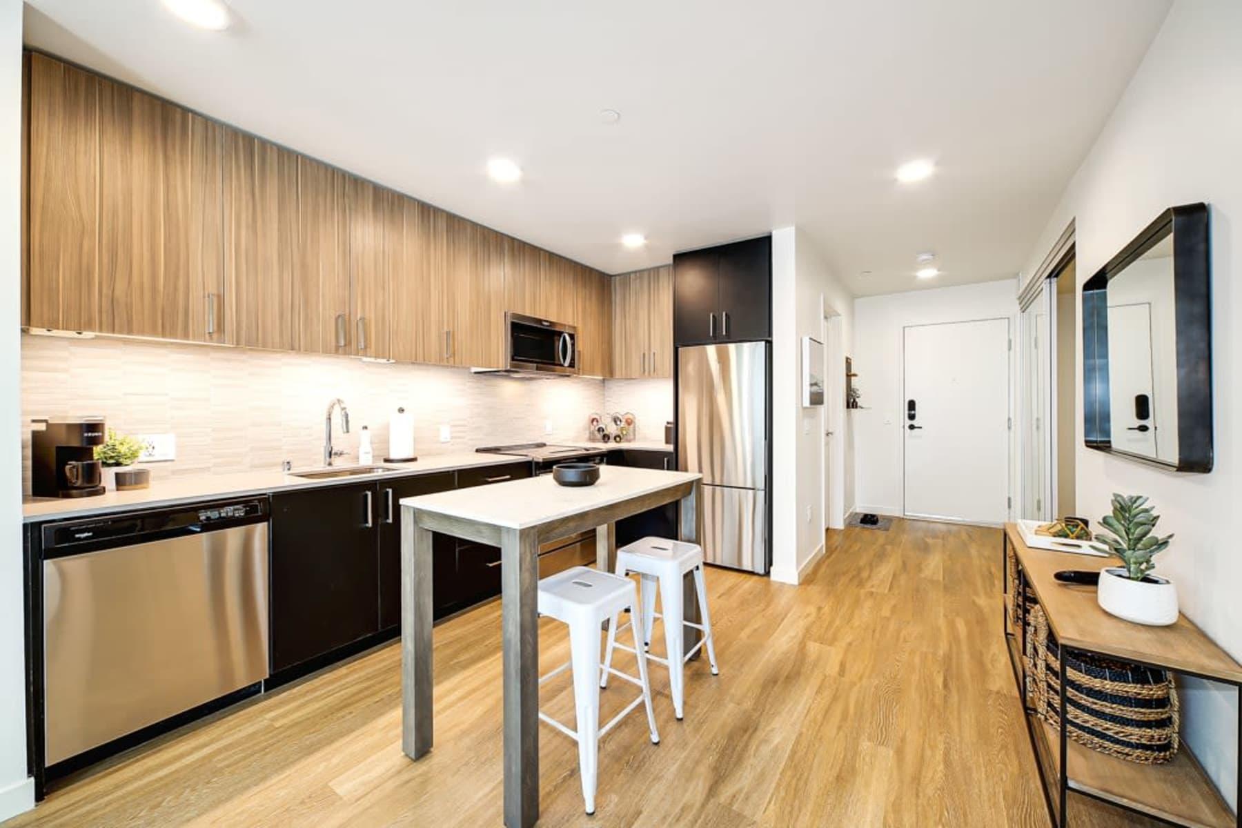 Kitchen at Blackbird in Redmond, Washington
