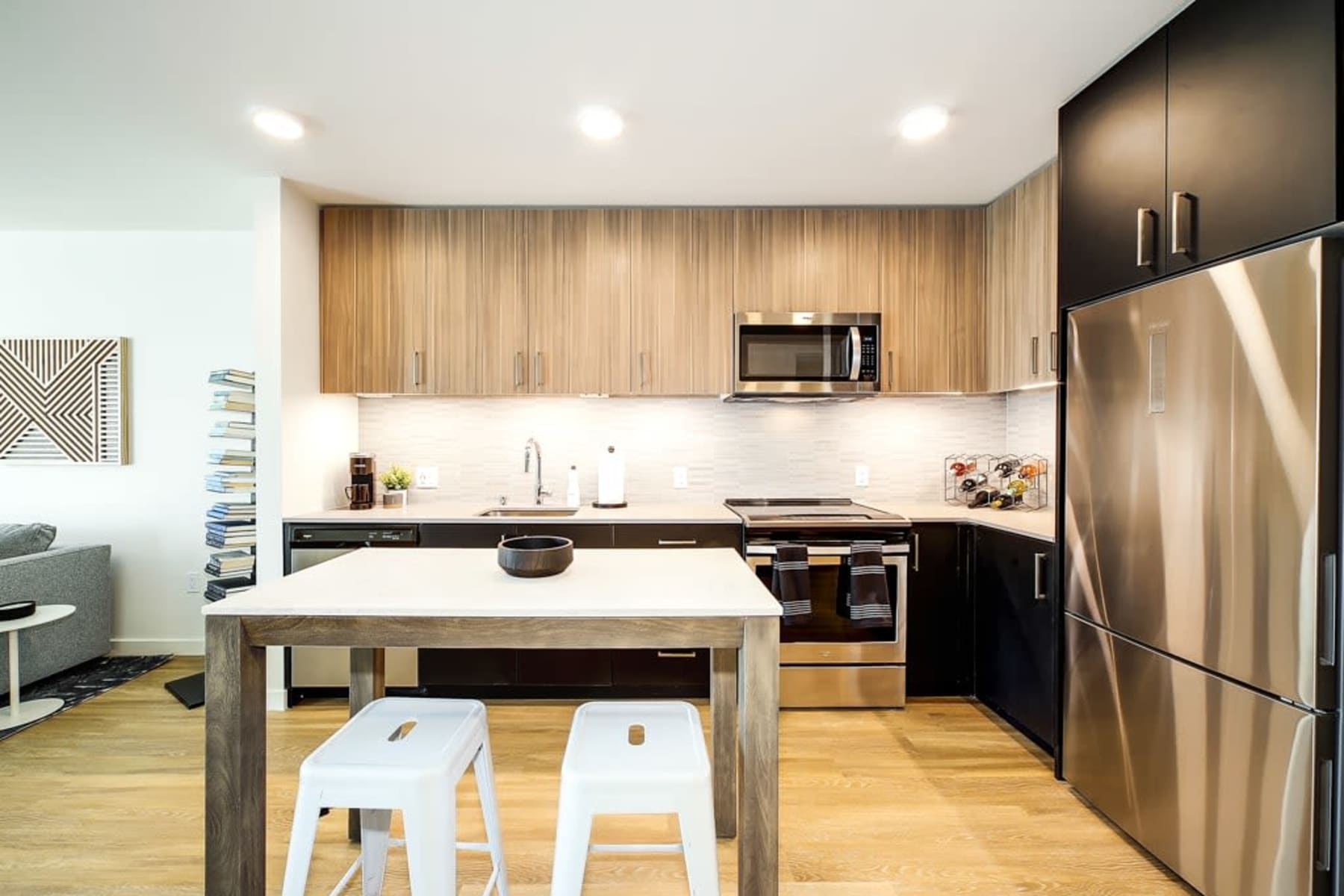 Our Apartments in Redmond, Washington offer a Kitchen
