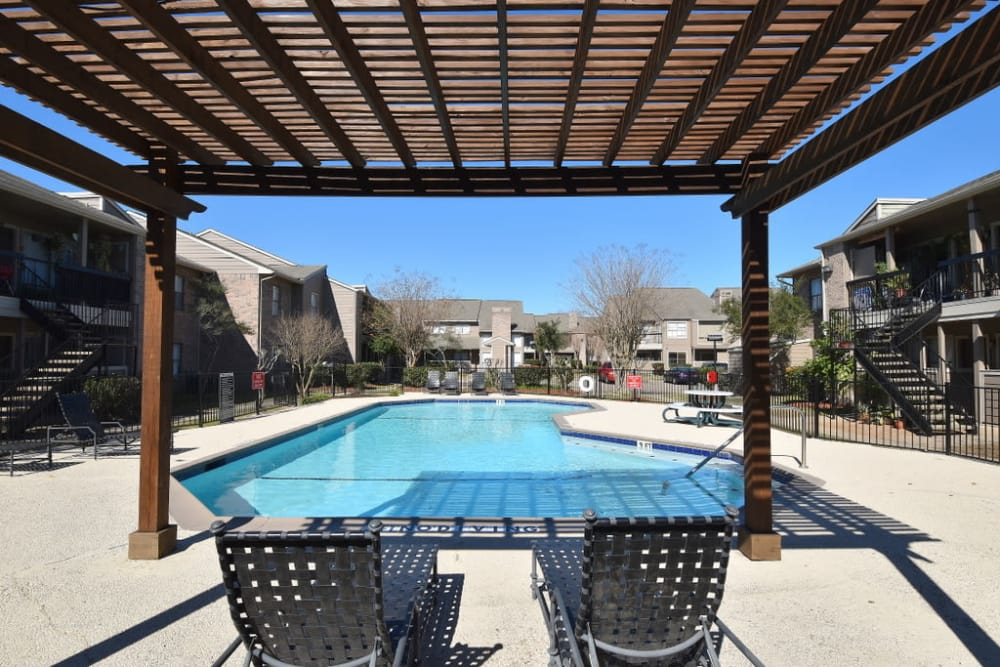 Pool at Green Meadows Apartments