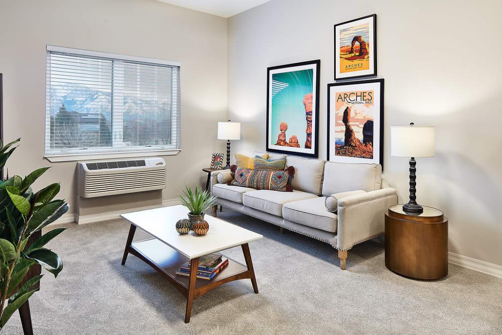 A resident apartment at Anthology of South Jordan in South Jordan, Utah