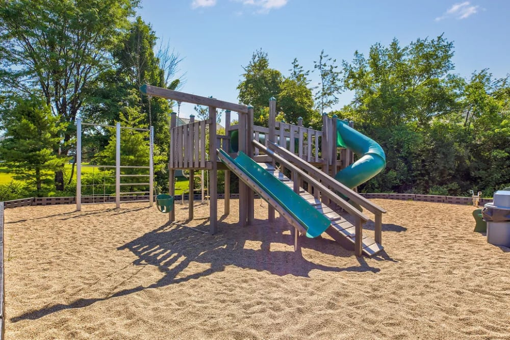 The playground is perfect for kids at Charleston Pines Apartment Homes in Florence, Kentucky