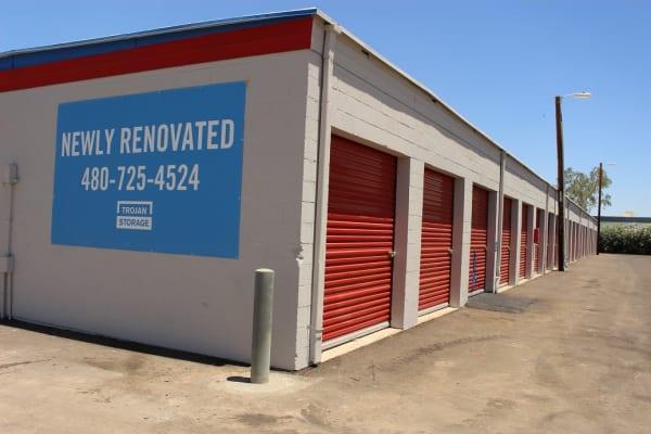 Self storage units for rent at Trojan Storage in Tempe, Arizona