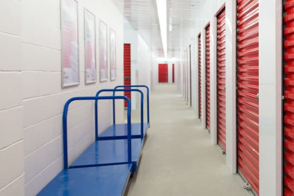 Temperature controlled storage units at Mini Storage Depot in Knoxville, Tennessee