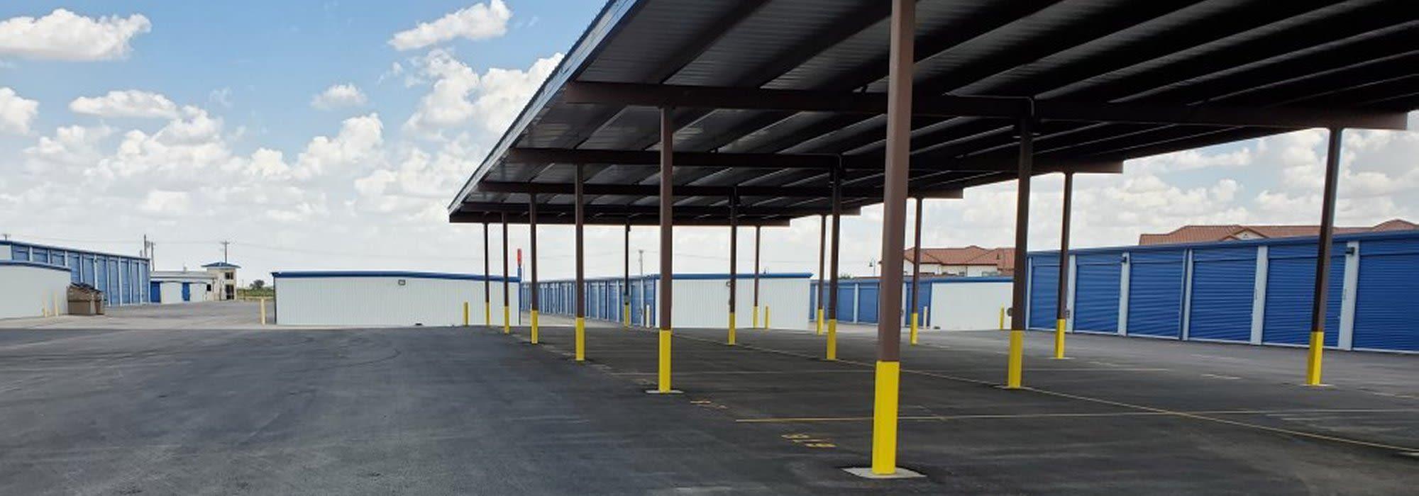 Self storage at Advantage 52nd Odessa in Odessa, Texas