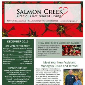 December Salmon Creek newsletter
