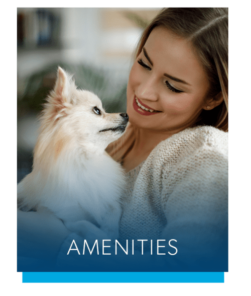 View the amenities at The Cascades Townhomes and Apartments in Pittsburgh, Pennsylvania