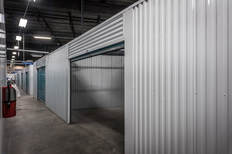 Riverfront Self Storage interior view of unit in New Orleans, Louisiana