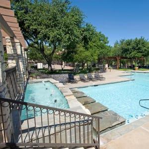 Neighborhood at Villas of Preston Creek in Plano, Texas