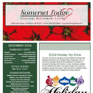 December Somerset Lodge newsletter