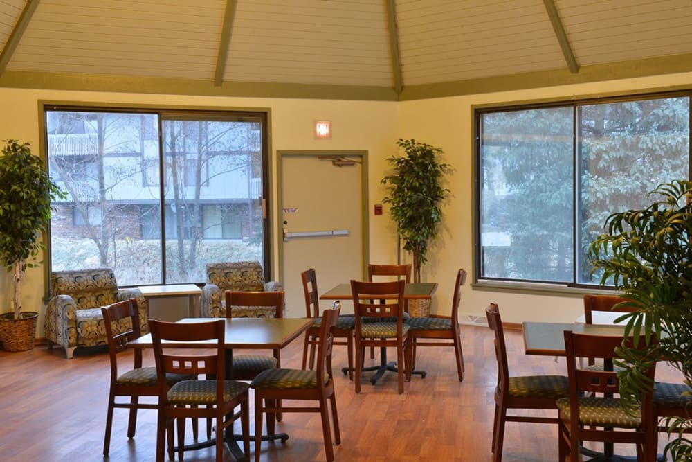 Dine with friends and family at American Colony Apartments, in Greenfield , WI