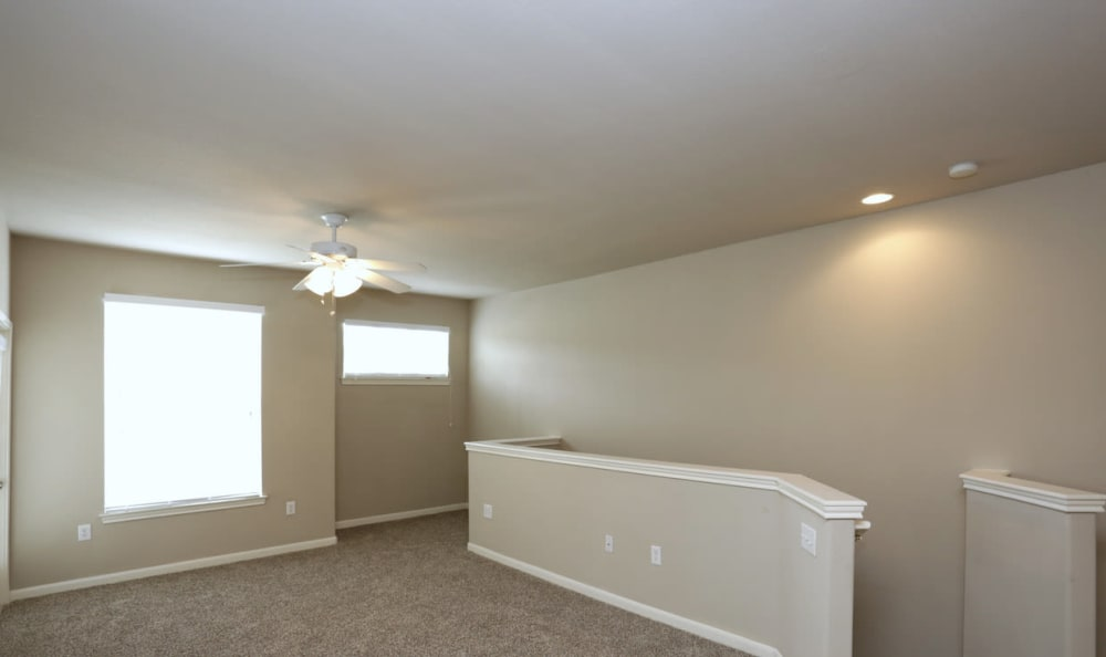 Spacious Living Room at Springs at Live Oak Apartments