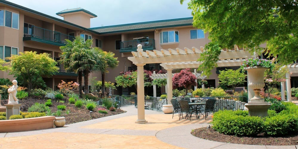 Independent living apartment at The Springs at Anna Maria in Medford, Oregon