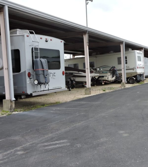 Parking, RV, and Boat Parking Available at Store It All Self Storage - Judson