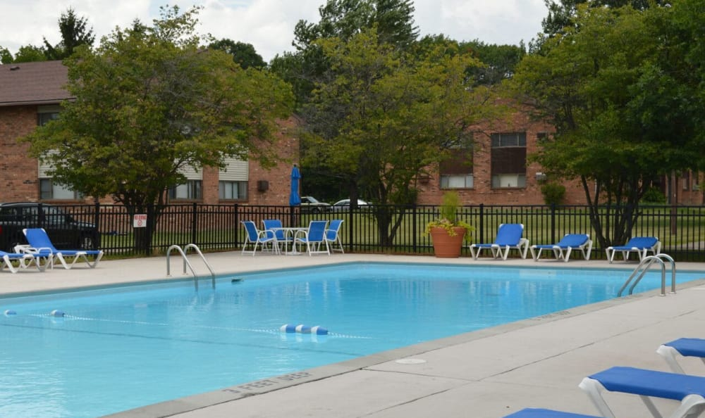 Webster Manor Apartments swimming pool in Webster, NY