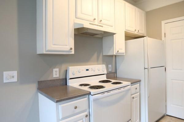 Modern kitchen at College Park in Columbus, Ohio