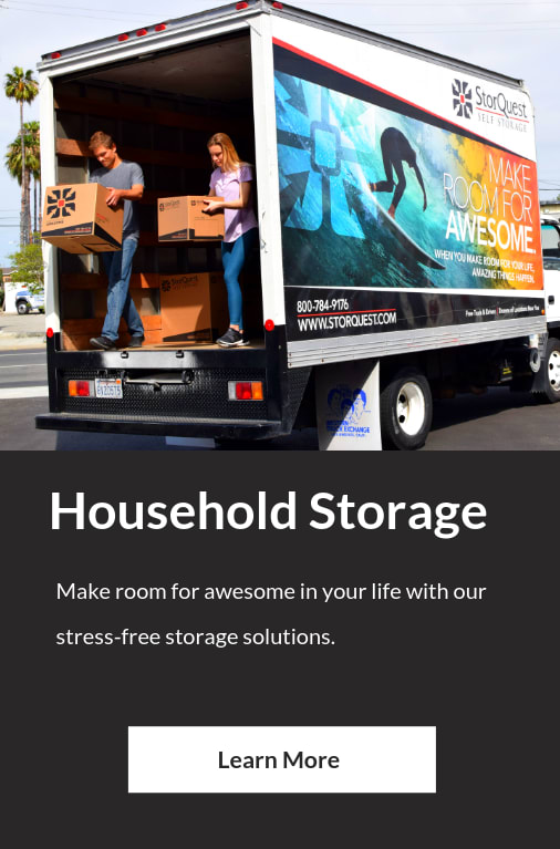 Household Self Storage at StorQuest Self Storage in Santa Monica, CA