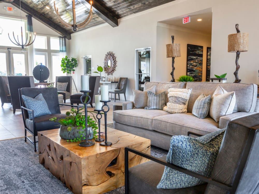 Luxurious resident clubhouse at Parc at Wesley Chapel in Wesley Chapel, Florida